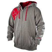Striker Clinch Gear Grey Hooded Sweatshirt